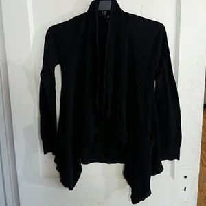 a.n.a Black Cardigan Sweater Size S ANACard02